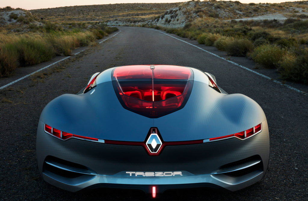 Tom de Peyret - Renault Trezor